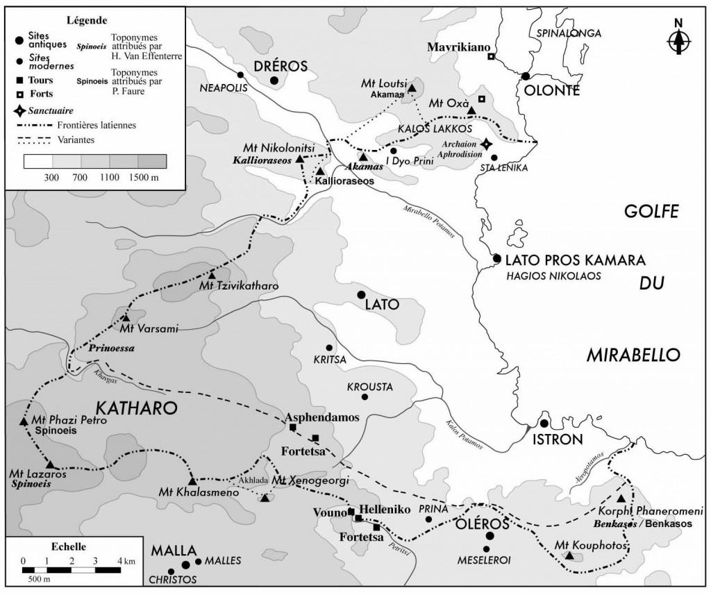 Figure 10. The borders of Lato