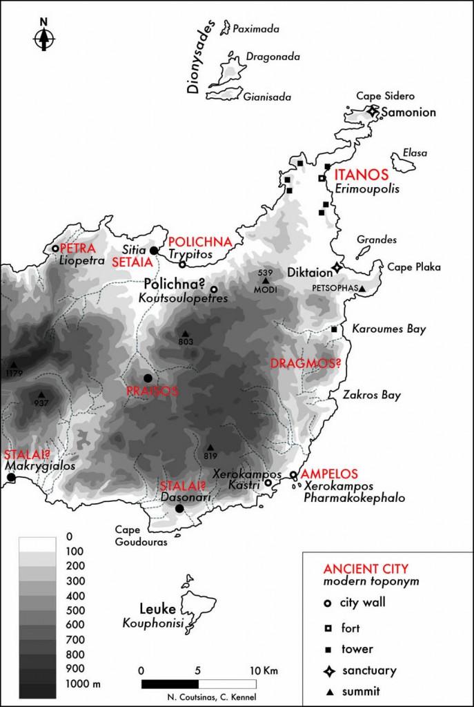 Figure 7. The eastern edge of Crete