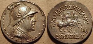 Plate 5: Eucratides Tetradrachm