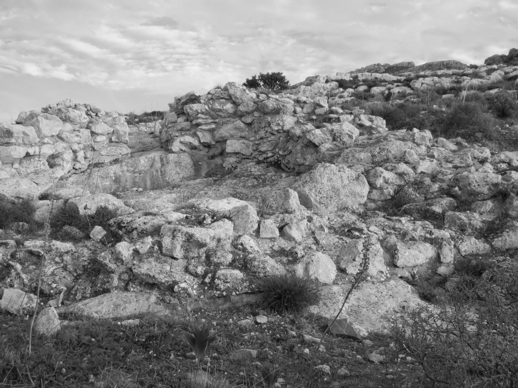 Figure 2. View of Tholos Tomb A from the west