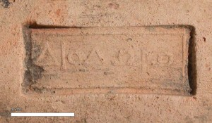 Figure 7. Rhodian rectangular stamp with the name of Diodôrô, a woman [Delos, no inventory number].