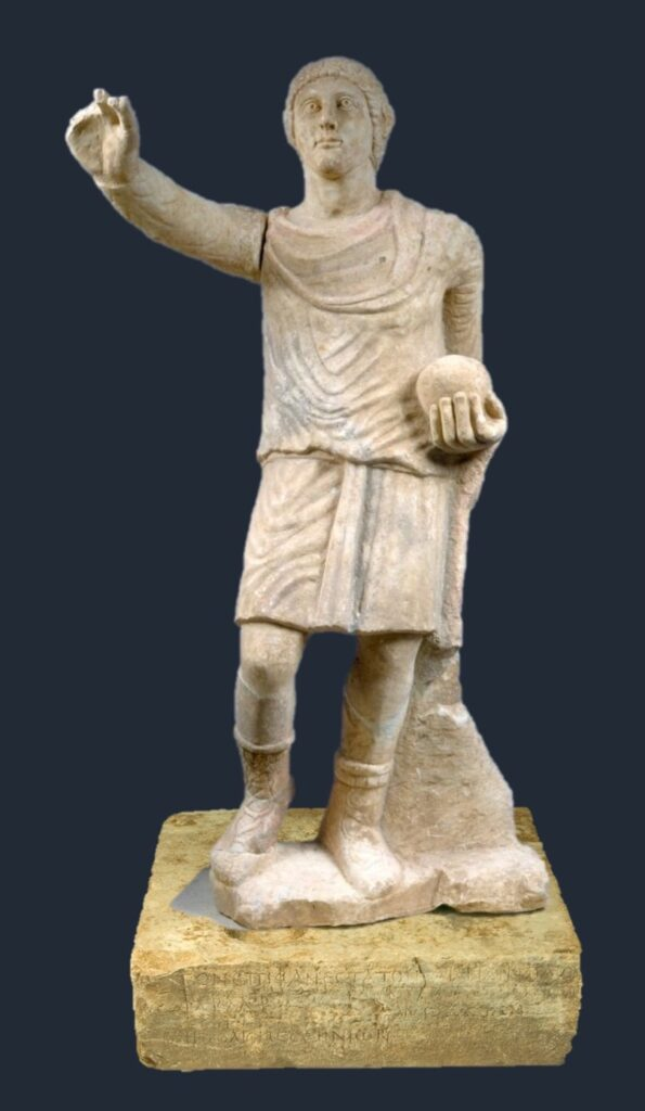 Photo-reconstruction of Constantinian portrait statue